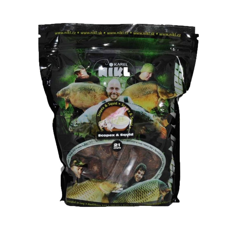 Boilies Scopex & Squid