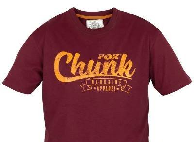 Chunk Burgundy / Orange T-Shirt