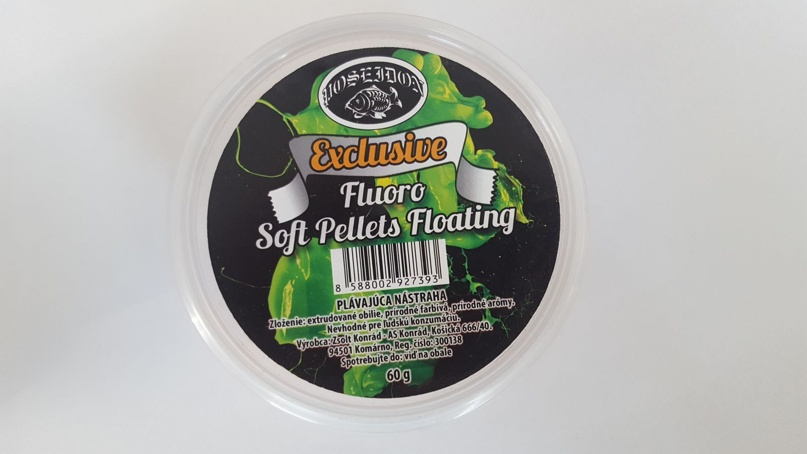 Soft Pellety Exclusive Fluo 60g