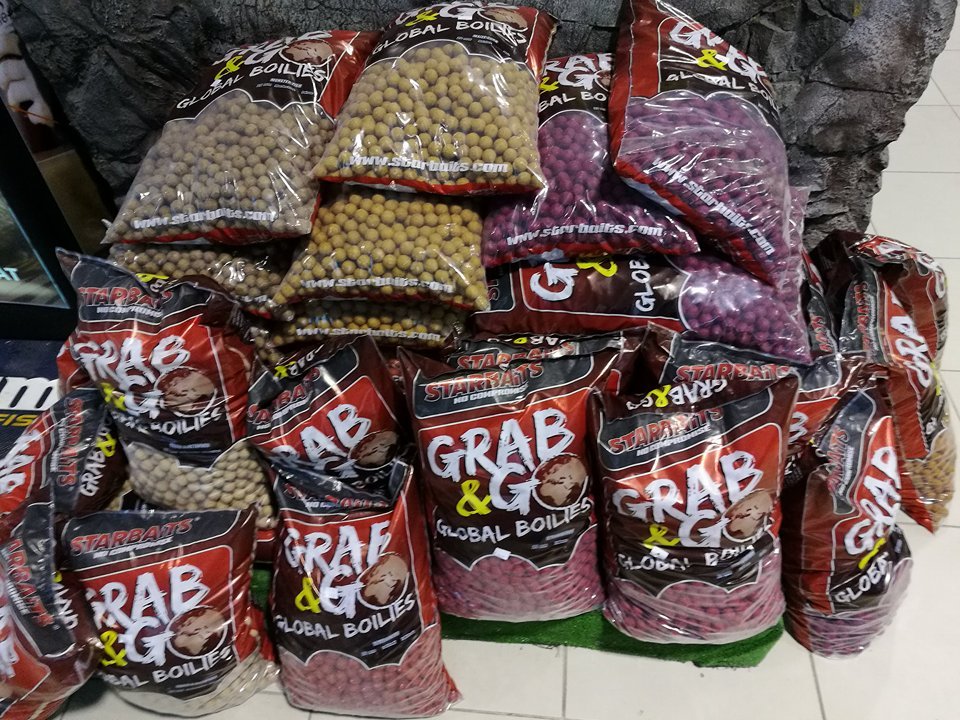 Boilies Grab and Go Global 10kg / Boilies, pelety a dipy / boilies potápavé
