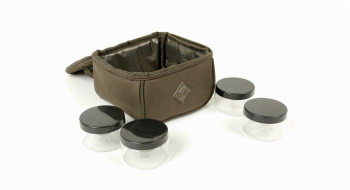 /produkty/114/kaprarske-tasky/NASH/Taska-na-nastrahy-Hookbait-Pouch-Includes-Pots