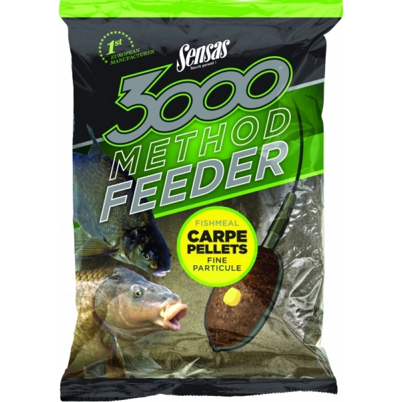 Krmivo 3000 Method Carpe Pellets 1kg