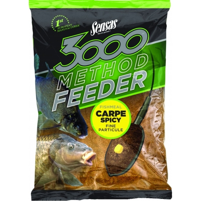 Krmivo 3000 Method Carpe Spicy 1kg