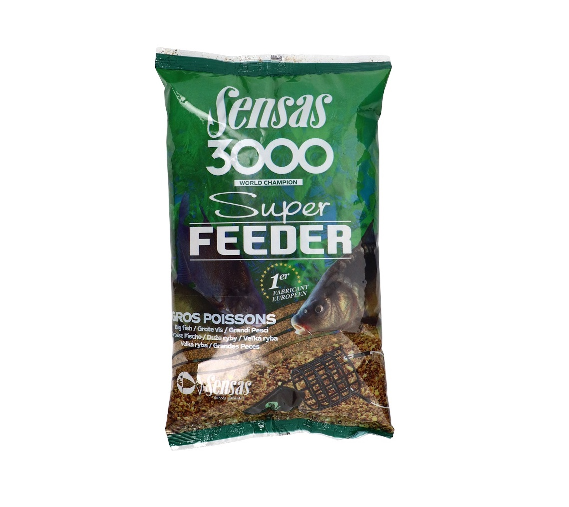 Krmivo 3000 Super Feeder 1kg Big Fish