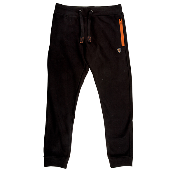 Tepláky Joggers Black/Orange