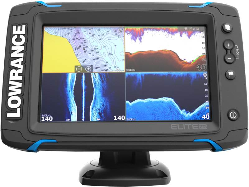 Sonar Elite-7Ti so sondou TotalScan