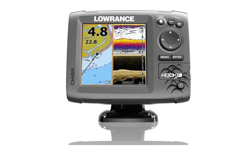 564651a4a Lowrance. Sonar Hook-5 Chirp so sondou / Sonary, GPS a kamery / sonary s. 〉