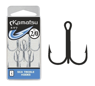 Trojháčiky Sea Treble Hooks