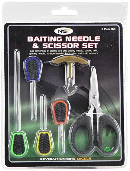 /produkty/182/boilies-ihly-vrtaky-doplnky/NGT/Sada-ihiel-Baiting-Needle-and-Scissor-Set