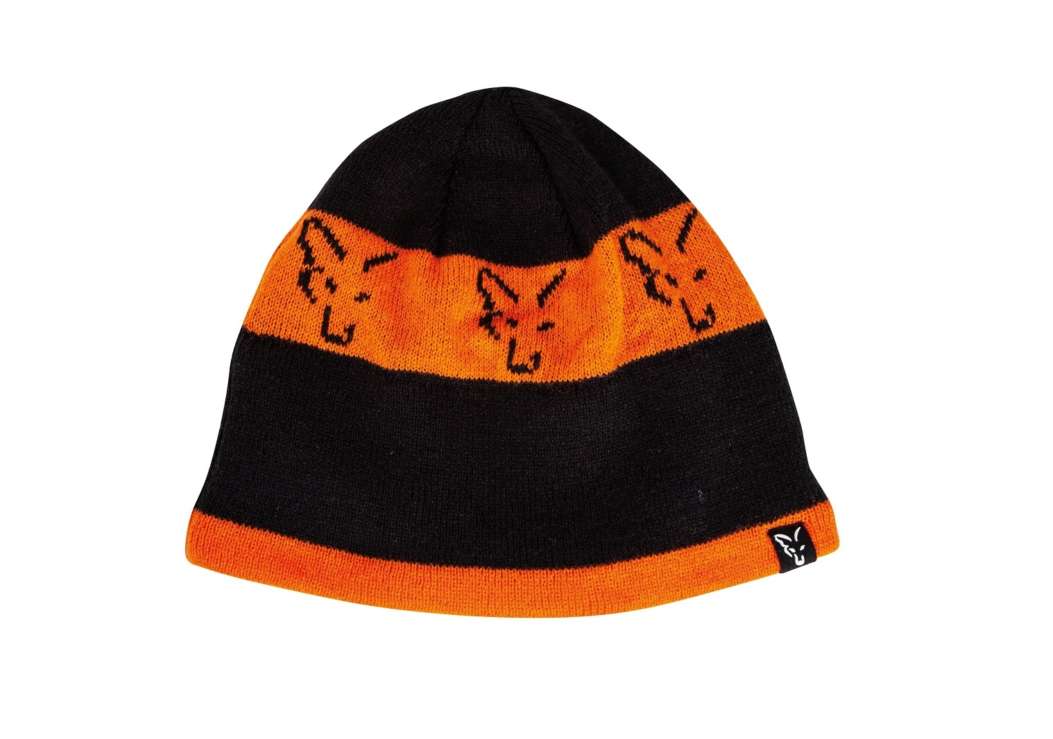 Čiapka Black Orange Beanie