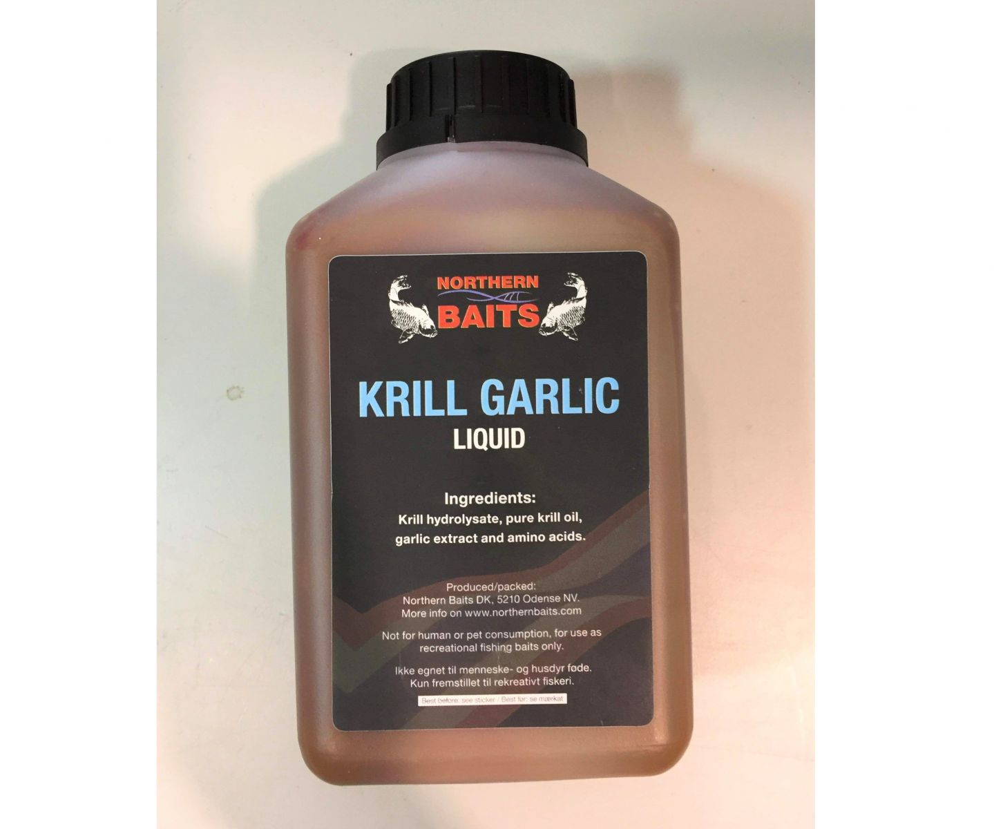 Booster Krillers Garlic 500ml