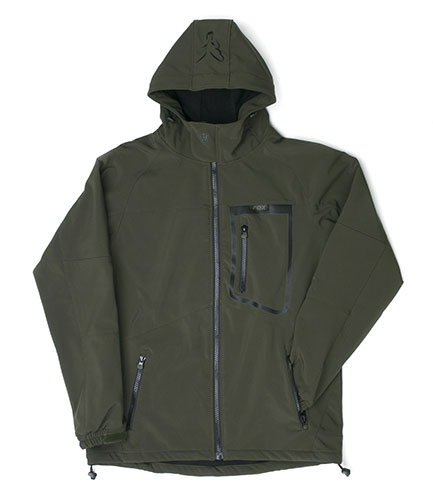 Bunda Softshell Jacket Green/Black