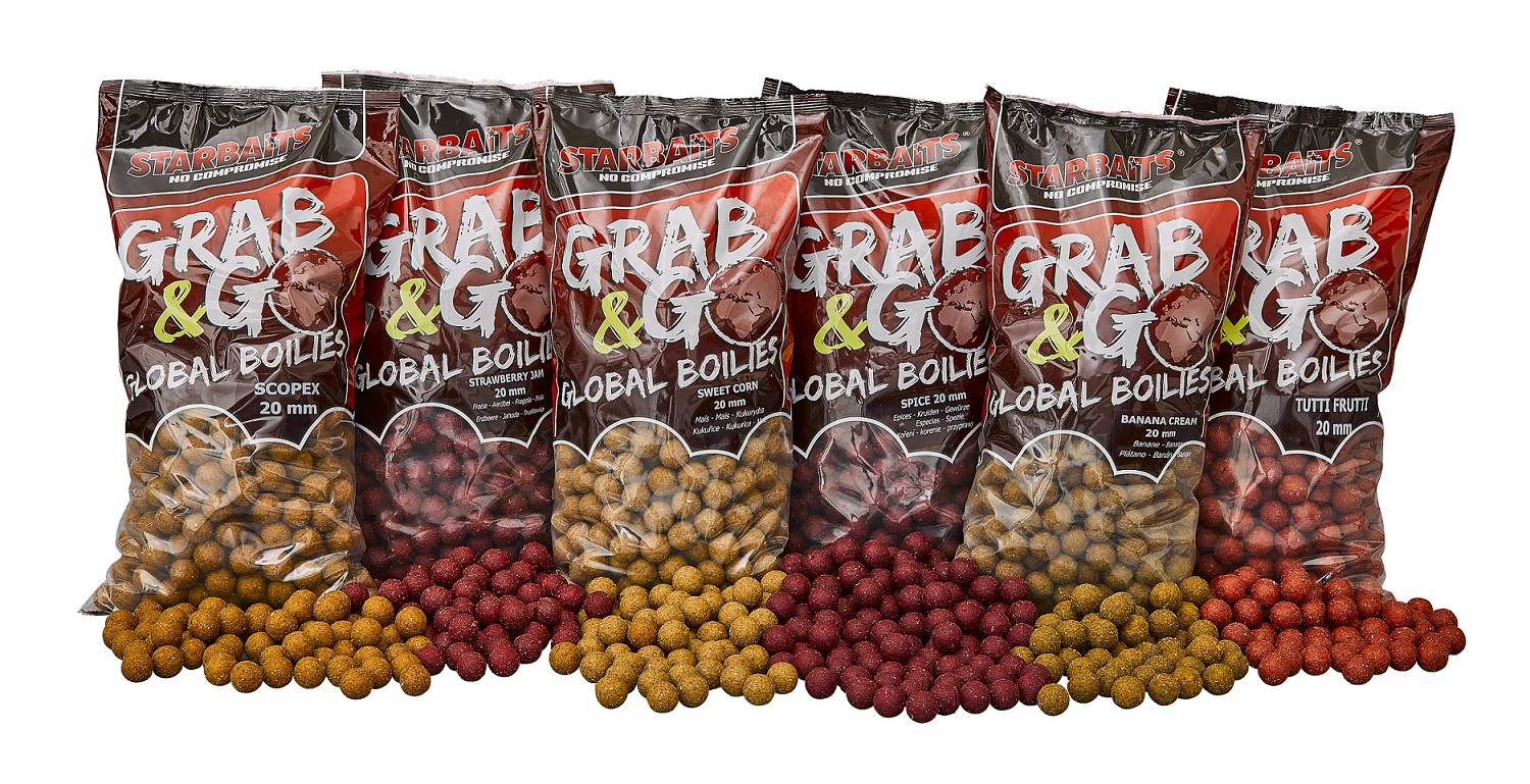 BOILIES GRAB AND GO GLOBAL 20mm 1Kg