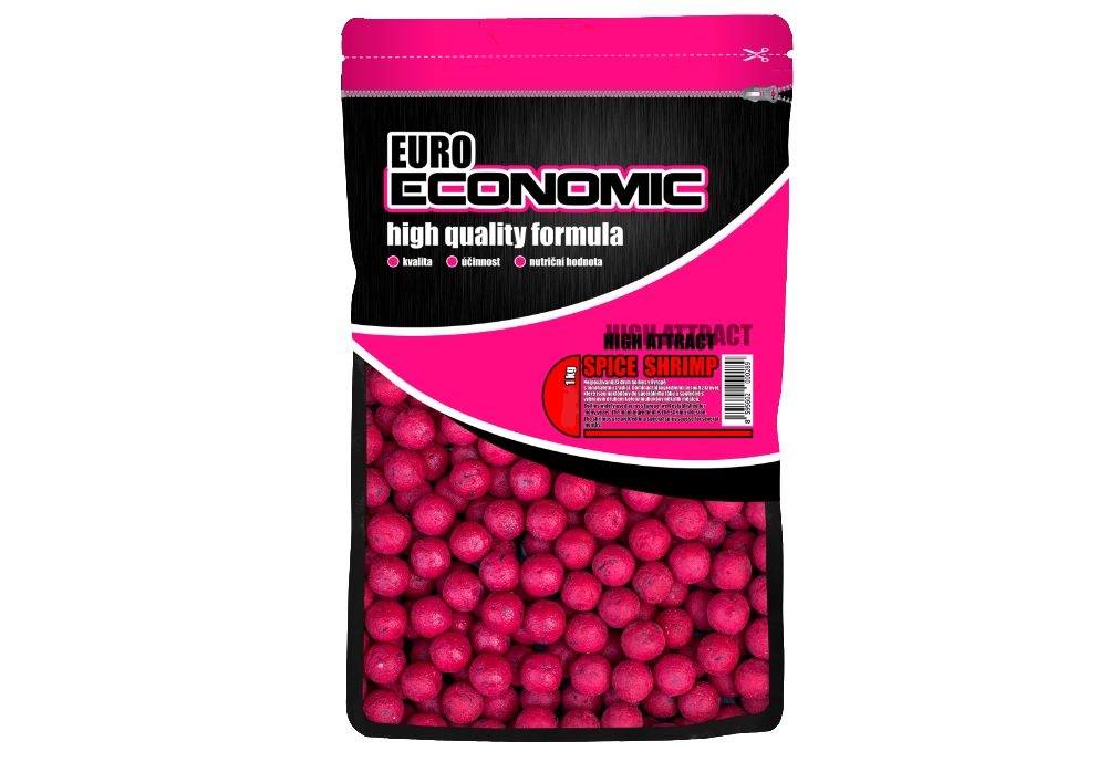 Boilies Euro Economic Spice Shrimp