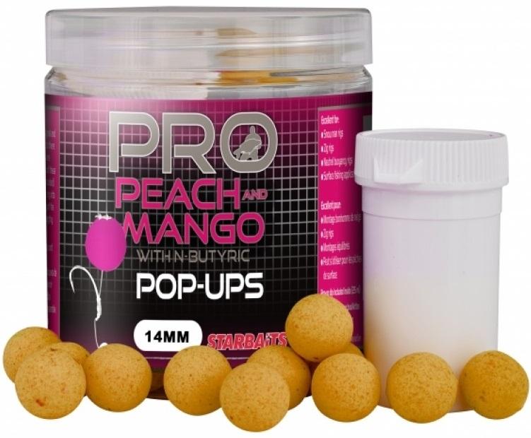 854a6994ad Starbaits Fluoro Pop-Up Peach Mango - Rybárske potreby RYBA