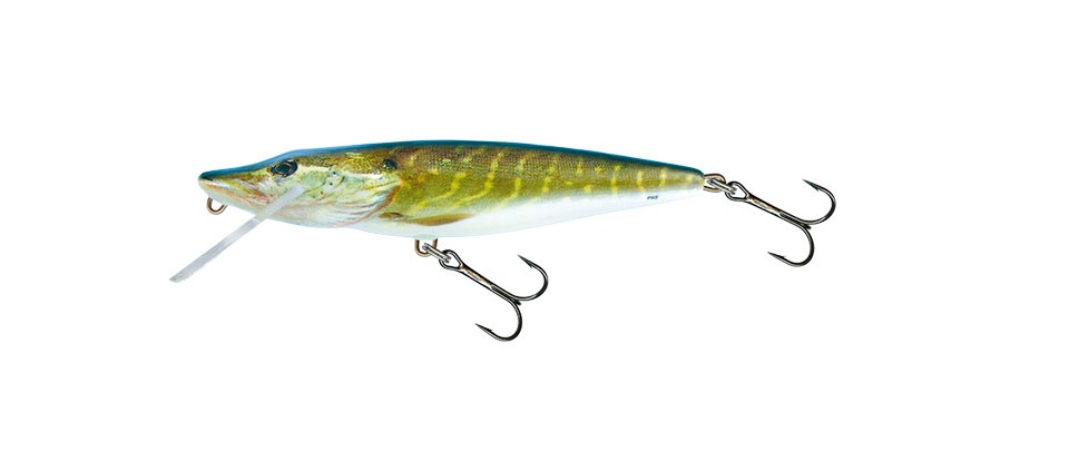 Wobler Pike Floating PE11F 11cm