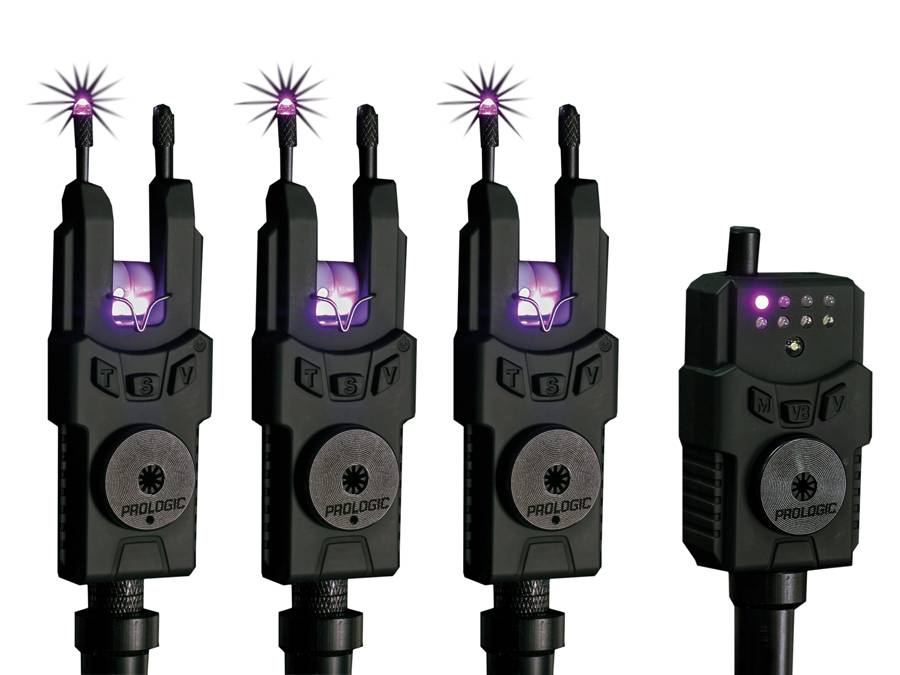Sada signalizátorov SMX Alarms Custom Black WTS Purple