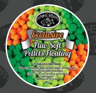 Soft Pellety Exclusive Fluo 80g