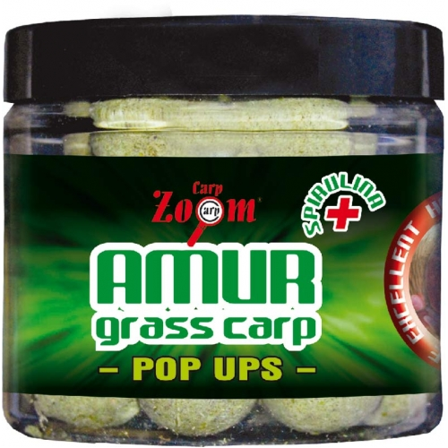 Amur-grass carp pop-up boilies