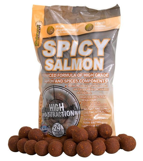 Boilies Spicy Salmon