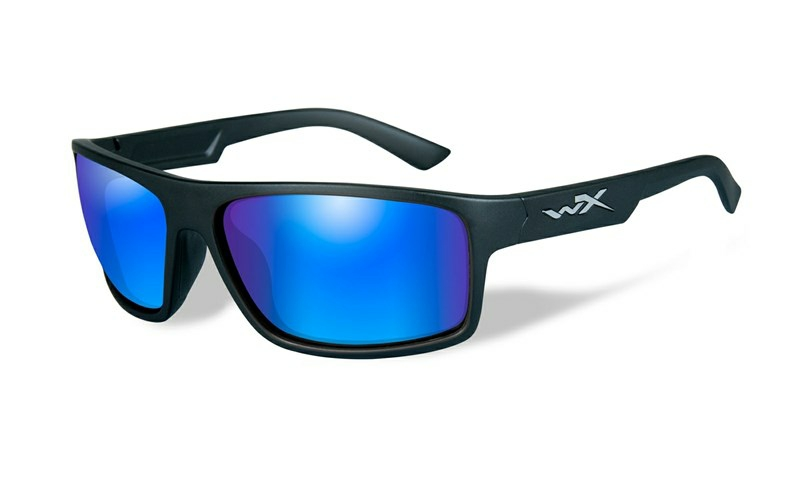 Okuliare PEAK Blue Mirror Matte Black Frame