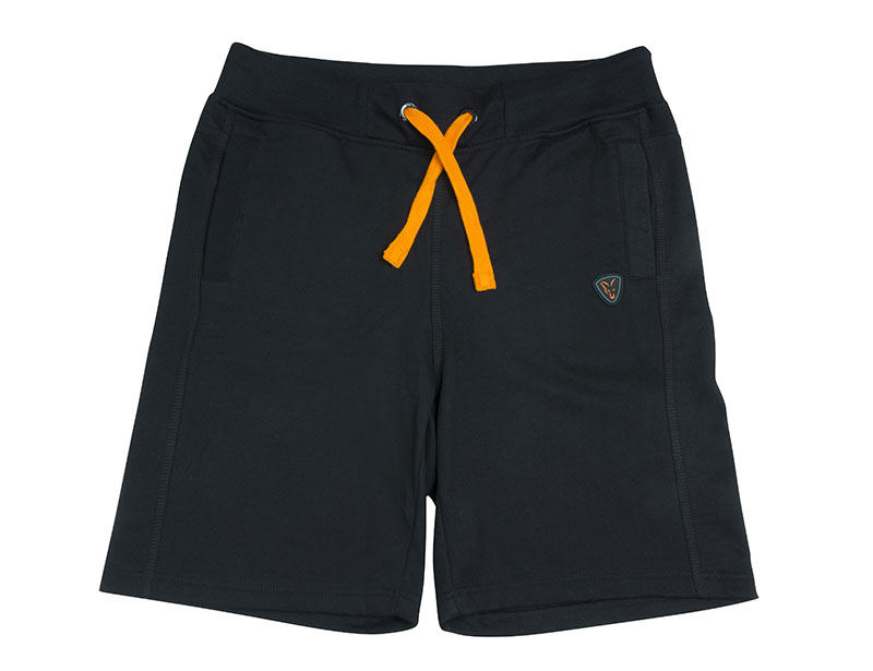 Kraťasy BLACK & ORANGE LIGHTWEIGHT JOGGER SHORTS