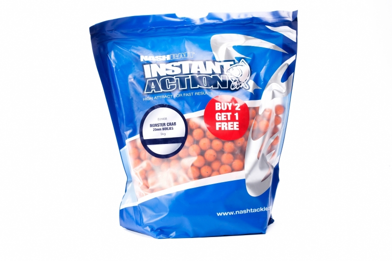Boilies chytacie Instant Action 200g