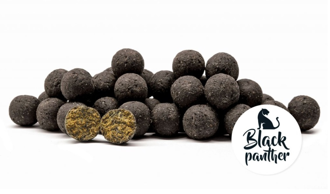 Boilies chytacie Black Panther 250g