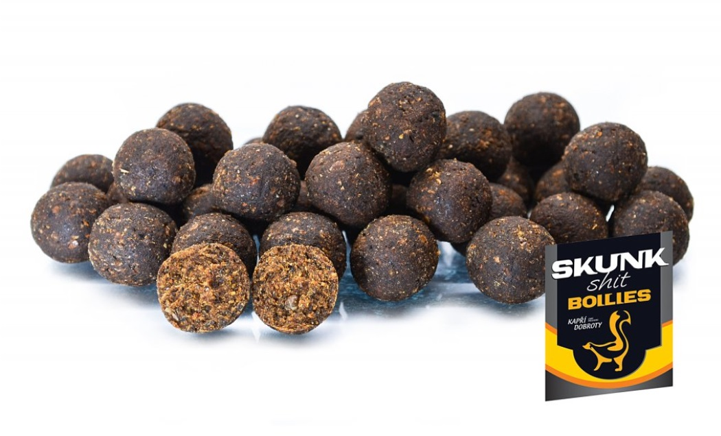 Boilies chytacie Skunk 250g