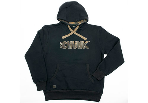 Mikina CHUNK™ Camo Applique Hoody Black