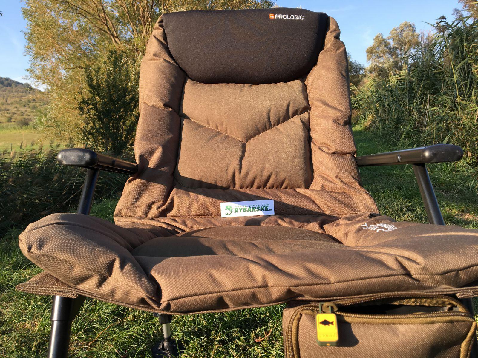 Recenzia kresla Prologic Commander Travel Chair - Rybárske potreby RYBA bf665ca3626