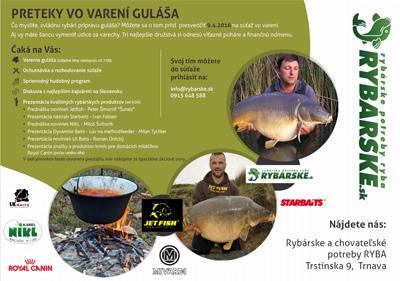 Preteky vo varení guláša - Rybárske potreby RYBA e0d3fc65191