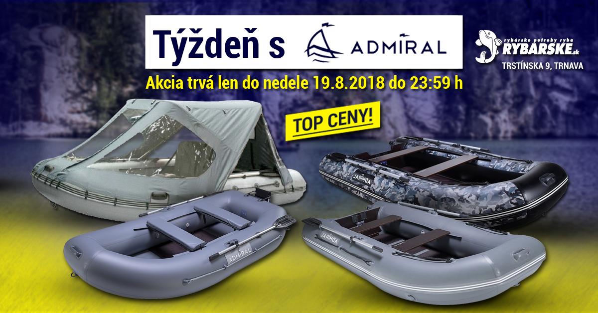 Značka Admiral Boats predstavuje sériu extrémne stabilných rybárskych člnov  určených hlavne na použitie s motormi rôznych druhov na veľké revíry. 842acbe354c