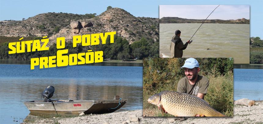 Súťaž o Rybačku na legendárnom španielskom Ebre pre 6 osôb
