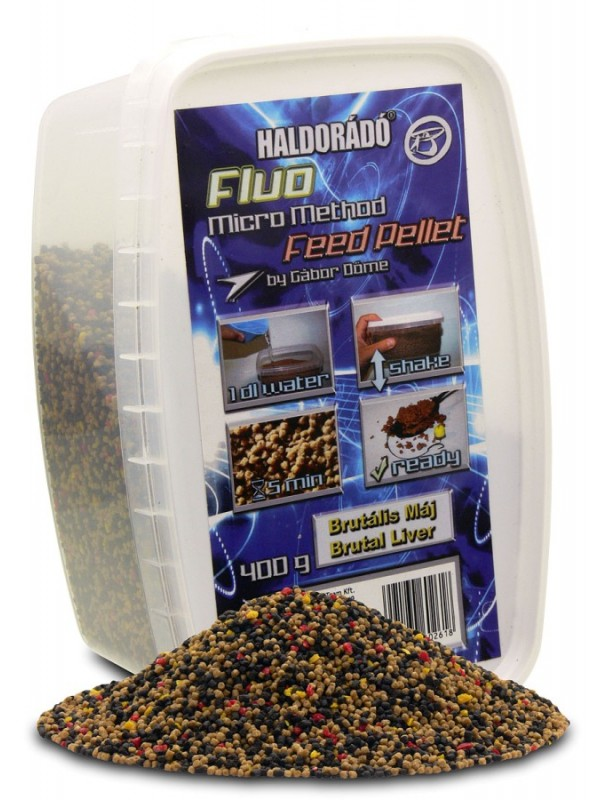 Pelety Fluo Micro Method Feed Pellet