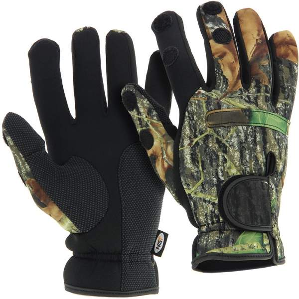 Rukavice Neoprene Camo Gloves