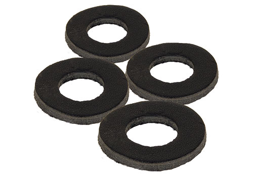 Podložky Black Label Leather Washers