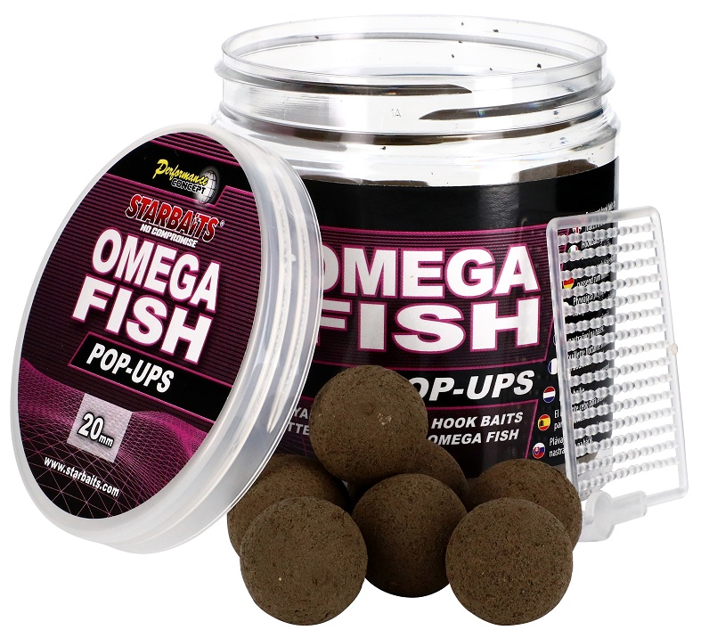 Omega Fish Pop Up 80g
