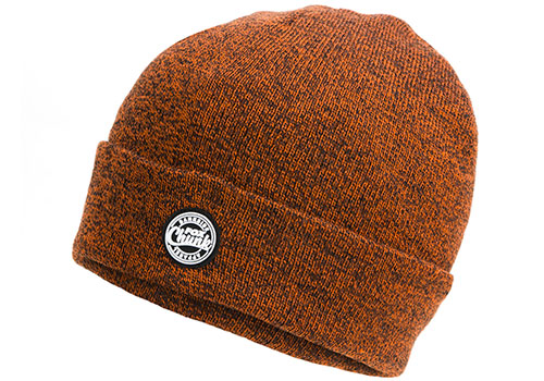 Čiapka  CHUNK Orange/Black Marl Beanie