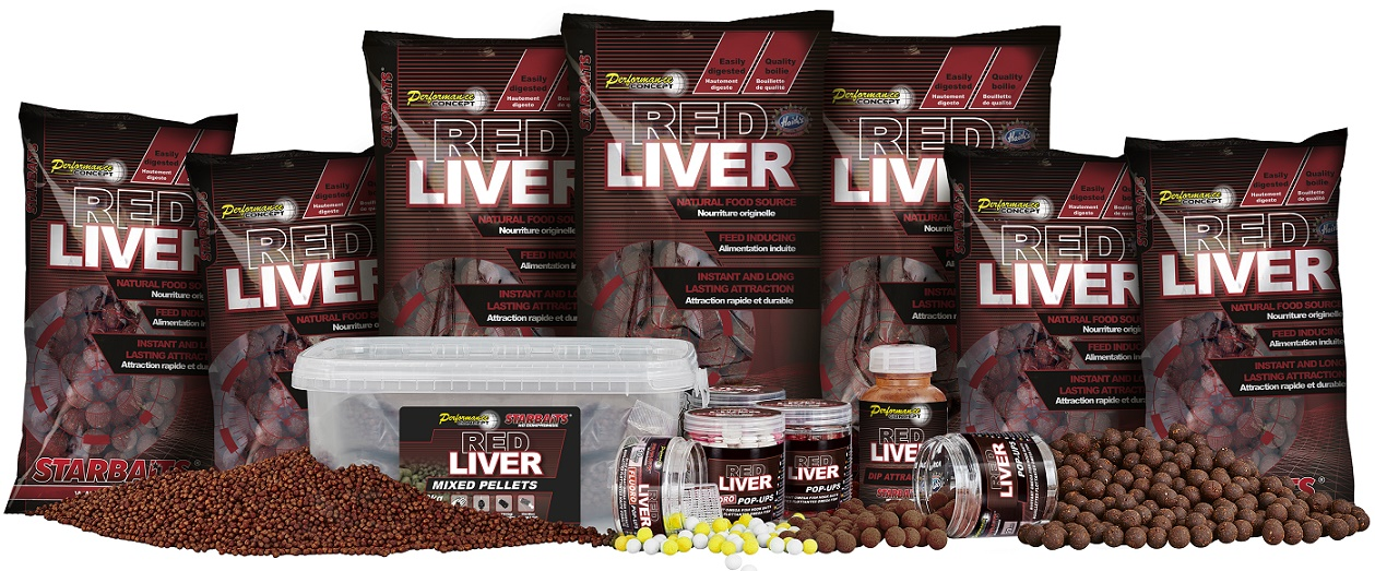 Pelety Probiotic Red Liver Mixed 2kg