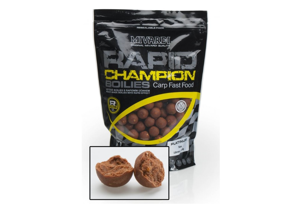 Rapid Boilies Champion Platinum Sea