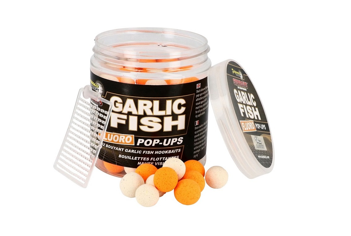 Fluo Pop Up Garlic Fish
