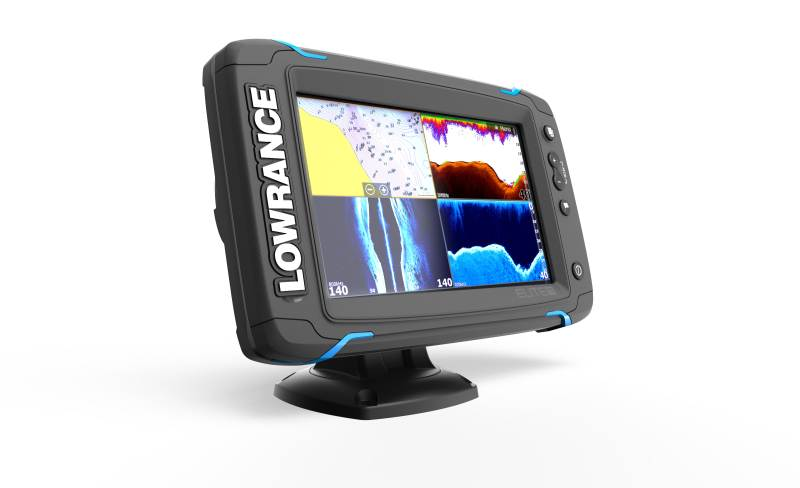 Sonar Elite-7Ti so sondou TotalScan / Sonary, GPS a kamery / sonary s GPS