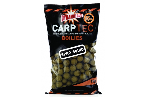 Boilies Carptec Spicy Squid