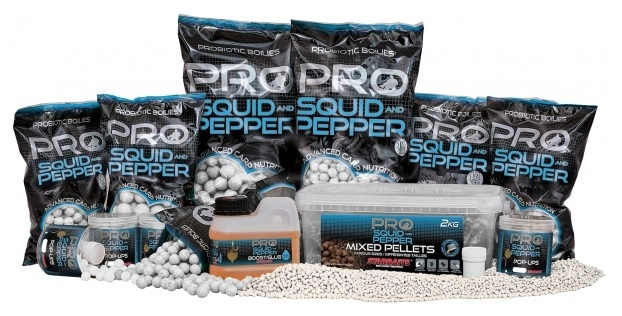 Boilies Pro Squid Pepper