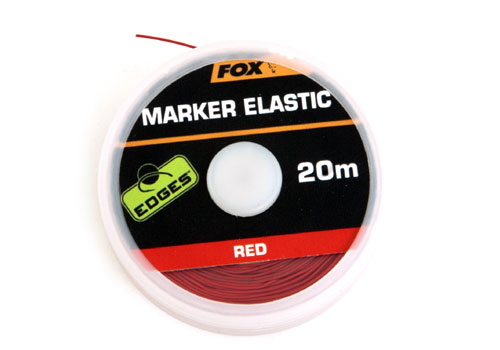 Značkovač Edges Marker Elastic 20m Red